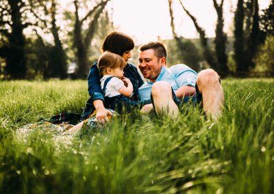 Kettering family photoshoot