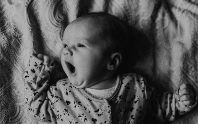 Sophia's newborn at home lifestyle session | Northampton family photography
