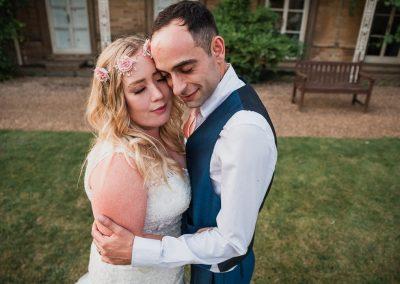 emotive wedding photography in Northamptonshire village